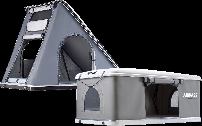 Zelte des Typs Airpass und Airpass Variant